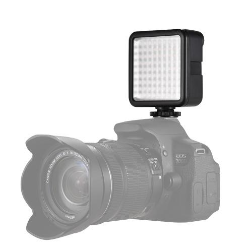Olympus Fujifilm DSLR Camera DV Camcorder Alpha Andoer160 LEDs 6000K W160 LED Video Photography Light Panel for Canon Nikon Pentax Sony