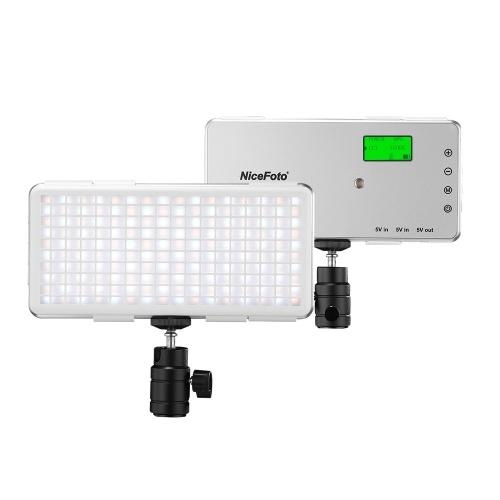 NiceFoto SL-120A Портативная светодиодная панель видеолампы