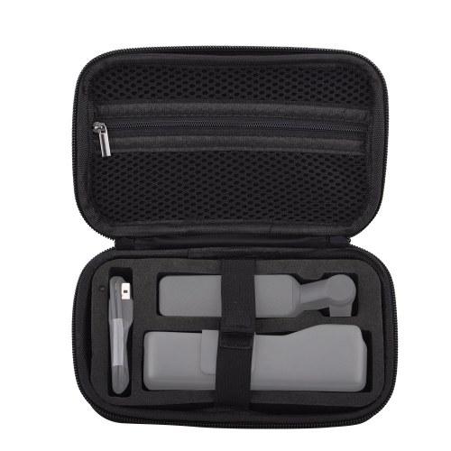 Portátil Mini Caixa De Armazenamento Caixa De Transporte EVA Handbag Pouch Protector Saco de Viagem À Prova de respingos para DJI OSMO Pocket Handheld Cardan e Acessórios
