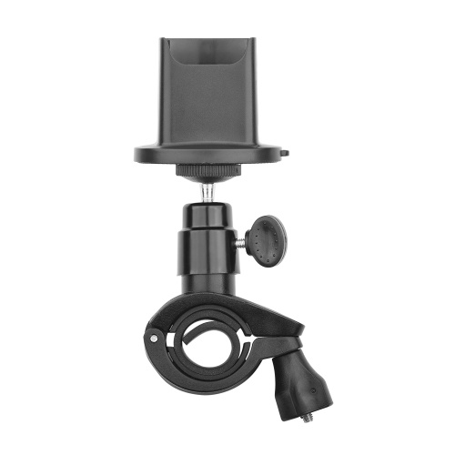 Bicycle Handlebar Mount Clamp Holder Stand Bracket with Base Adapter for Motorcycle Bike Expansion Accessories Image
