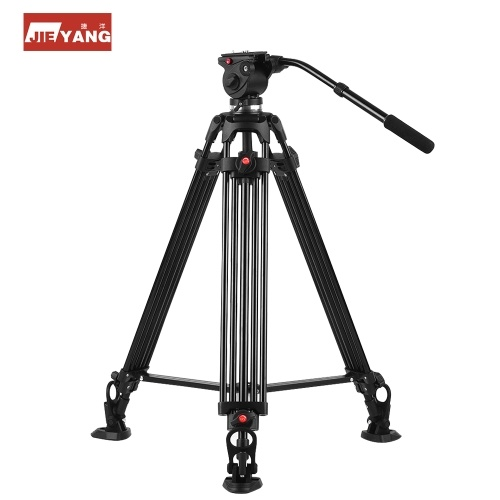 JIEYANG JY0508AM Adjustable Aluminium Alloy Camera Tripod