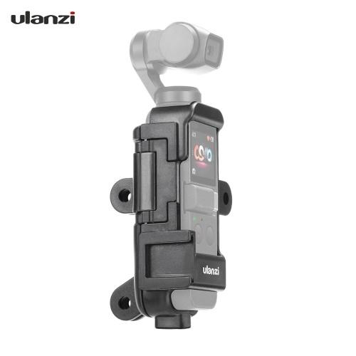 Ulanzi OP-7 Multifonctionnel Vlog Etui étendu pour DJI Osmo Pocket avec microphone Montage à griffe froide 1/4