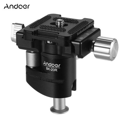 Andoer Mini Ball Head 360 Degree Rotating Panoramic Camera Tripod