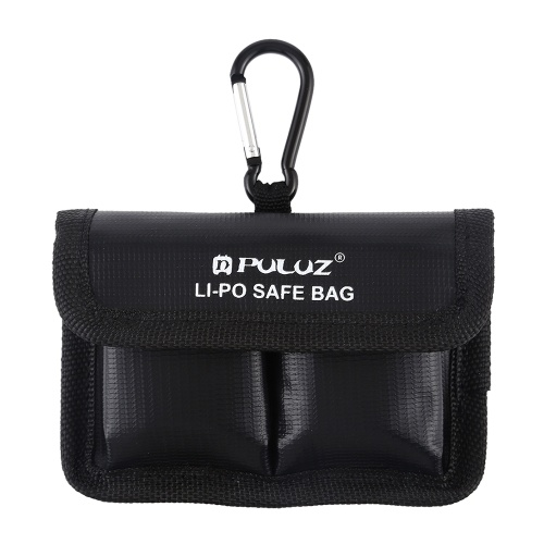 PULUZ LiPo Safe Bag Sac de protection de sécurité anti-déflagrant avec batterie au lithium