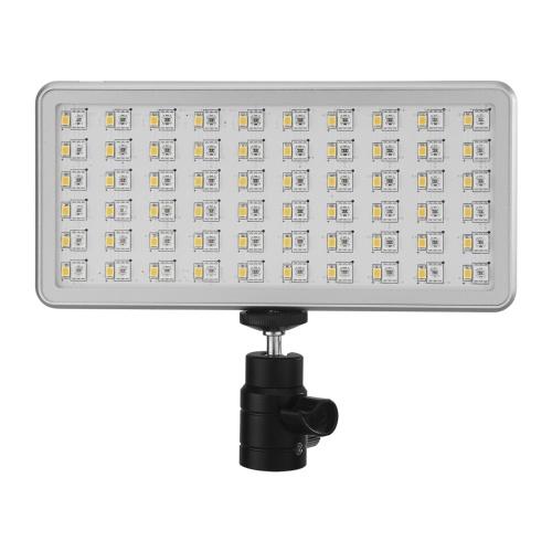 NiceFoto TC-168 LED-RGB-Licht im Taschenformat Tragbare Videobeleuchtung zum Ausfüllen