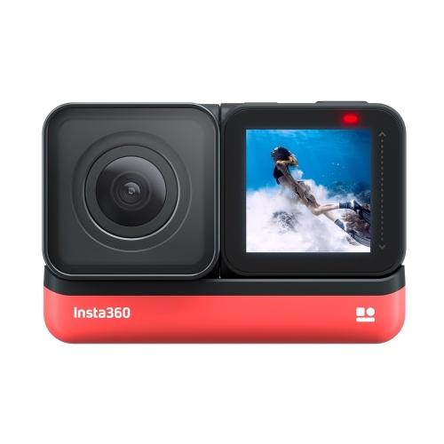 Câmera de ação esportiva anti-vibração Insta360 ONE R 4K Edition