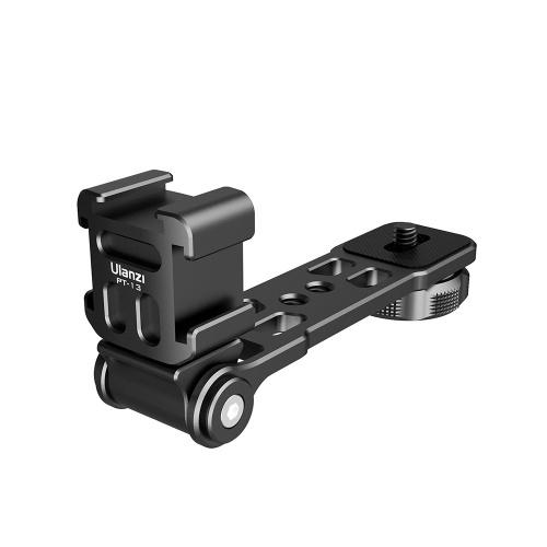 Staffa ulanzi PT-13 per treppiede per scarpa fredda Vlog Extend Accessori Lega di alluminio