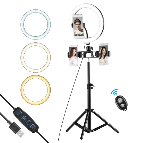 10-Zoll-Ringlicht Selfie Beauty LED-Licht USB-Fotolicht