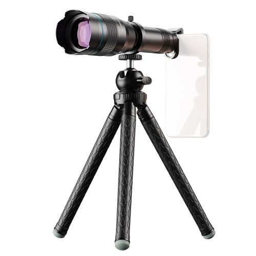 APEXEL APL-JS60XJJ09 Metal 60X HD Phone Telephoto Zoom Lens Kit Монокулярный телескоп