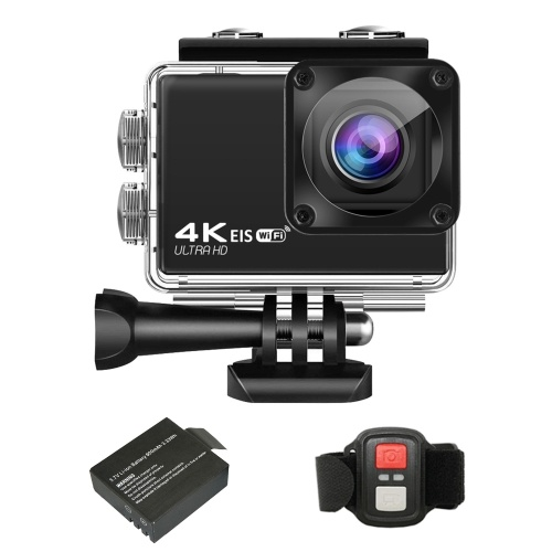 4K/30FPS 24MP Ultra HD Sports Action Camera 2.4G Wireless Remote Control WiFi DV Camcorder