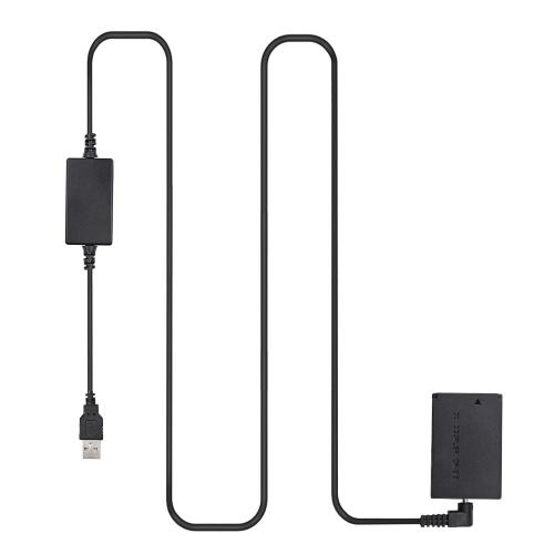 Andoer DR-E12 USB-Power-Kit DC-Koppler Dummy-Batterie