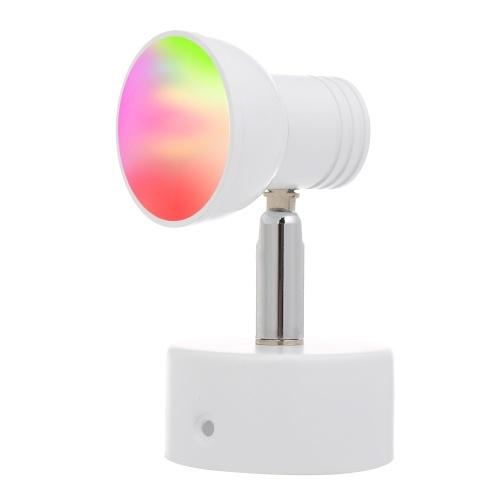 Luz de pared moderna de 8W WiFi WiFi LED luz RGB multicolor moderna