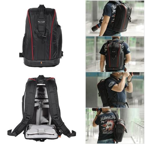 Kamera Objektiv schwarz Fotografie gepolsterte stoßfest wasserdicht Rucksack/Tasche für Nikon Canon Sony DSLR-Kamera-Zubehör