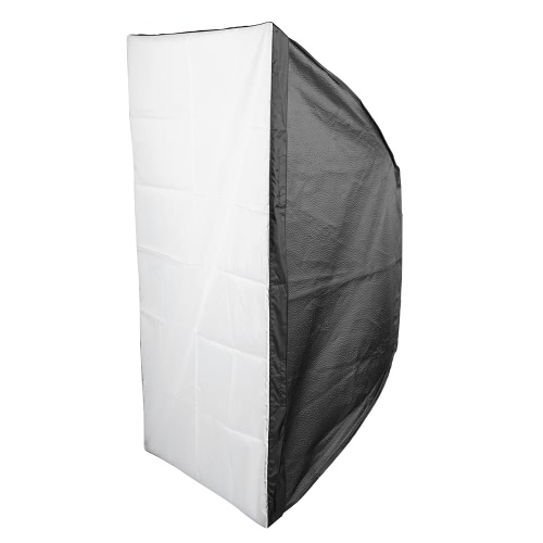 60 * 90cm / 24 * 35inch Rectangular Softbox Diffuser with Bowens Mount for Studio Flash Speedlite