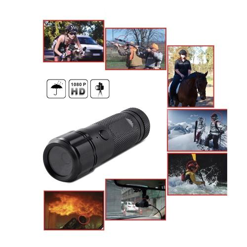 Wasserdicht Sport HD 720P 30 FPS 8MP 120A + HD Weitwinkel-Objektiv DVR Helm Action Kamera Camcorder Car DVR Outdoor Bike Kamerahelm Arm Jagd