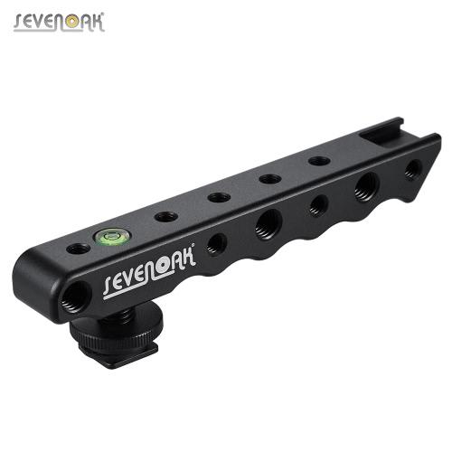 Sevenoak SK-H02 Hand Video Stabilizer Griff Kamera Blitzschuh-Halter Halterung Unterstützung für Nikon Canon Sony-Kamera-Monitor Mikrofon LED-Leuchten