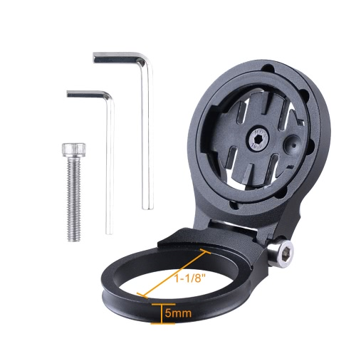 "Image of Bike Stem Mount Computer Holder Support for Garmin Edge 25/200/500/510/520/800/810/1000 GPS Cycling Computer 1-1/8"" Bike Stem Mount"