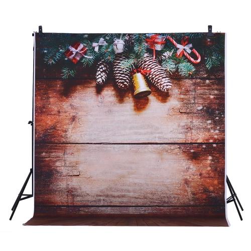 1.5 * 2m Fondo de fotografía de fondo Impresión digital Fantasy Spot Light Piso de madera patrón para estudio de fotografía