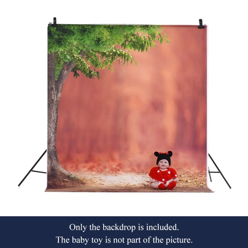 1.5 * 2m Photography Background Backdrop Computer Printed Tree Pattern