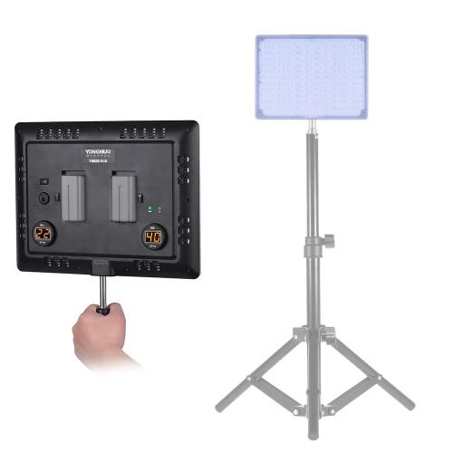 永諾YN600 RGBリモートコントローラーのサポートAPPリモートコントロールスタジオ照明したプロフェッショナル5500K + RGB LEDビデオライトソフトライトスリム&ライトデザイン調節可能な明るさCRI≥95
