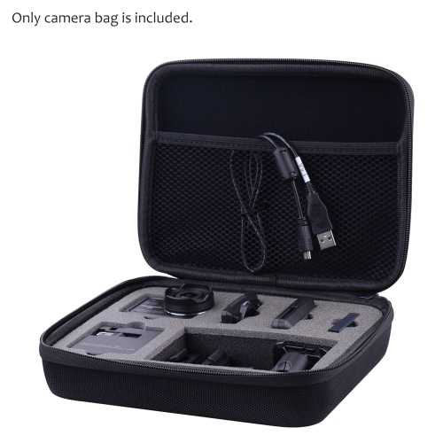 Portable Protective Carrying Case Water Resistant EVA Camera Storage Bag for Nikon KeyMission 170 Action Camera