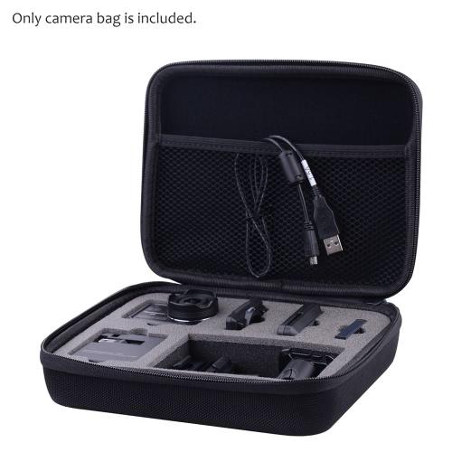 Resistente EVA cámara portátil que lleva protector Caso bolsa de almacenamiento de agua para Nikon KeyMission la cámara 170 Acción