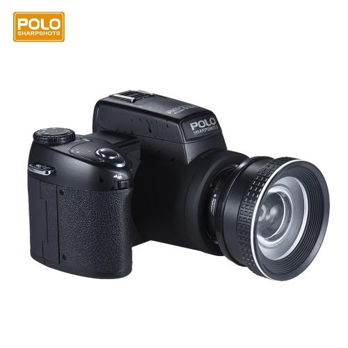 ポロSharpshotsオートフォーカスAF 33MP 1080P 30fpsのフルHD 8Xズーム可能なデジタルカメラの標準+ 0.5X広角+ 24X望遠ロングレンズ3.0