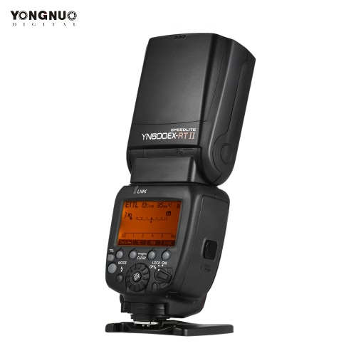 YONGNUO YN600EX-RT II Professional Creative TTL Master Flash Speedlite 2.4G Wireless 1/8000s HSS GN60 Support Auto/ Manual Zooming for Canon Camera as 600EX-RT YN6000 EX RT II