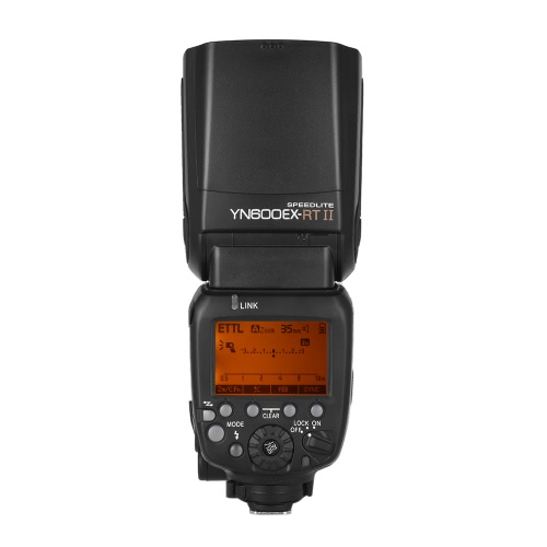 YONGNUO YN600EX-RT II TTL Creative Professional Master Flash Speedlite pour appareil photo Canon