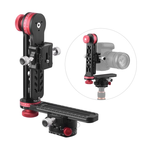 720 Degree Panoramic Head Panoramic Support Stand Gimbal Tripod Ball Head for Canon Nikon Sony Pentax DSLR Camera Camcorder Max Load Capacity 10kg