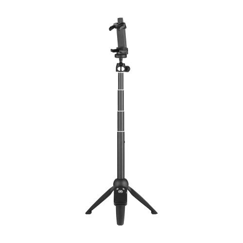 YUNTENG YT-9928 2-w-1 Mini statywowy statyw samoprzylepny z uchwytem telefonu Pilot zdalnego sterowania Max. Załaduj 0.22 kg dla telefonu iPhone 7 7plus Xiaomi Samsung Smartphones