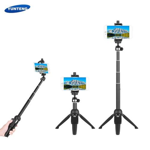 YUNTENG YT-9928 2-in-1 Mini Desktop Tripod Selfie Stick