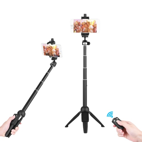 YUNTENG YT-9928 2-in-1 Mini Desktop Stativ Selfie Stick