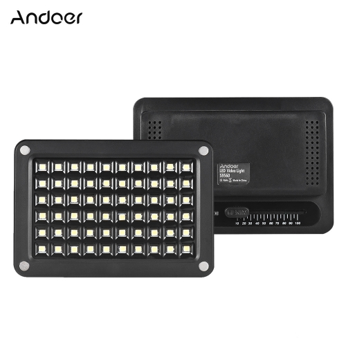Andoer S9560 Mini LED Video Lampa Światła