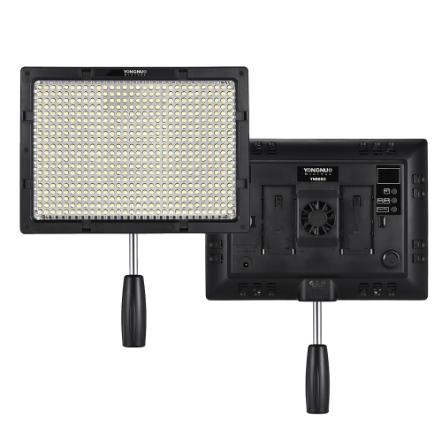 YONGNUO YN600S LED 5500K Temperatura de color Lámpara de luz de video
