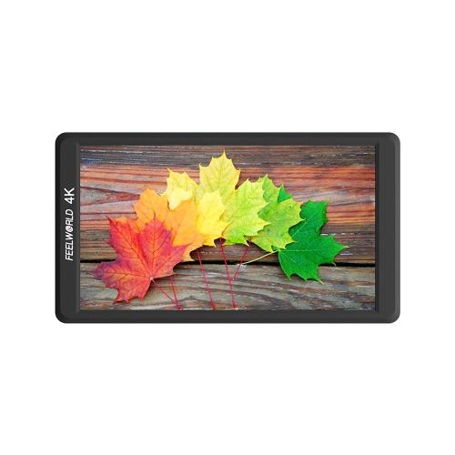 """Feelworld F570 4K Monitor de campo portátil ultradelgado de 5.7 """"en la cámara"""