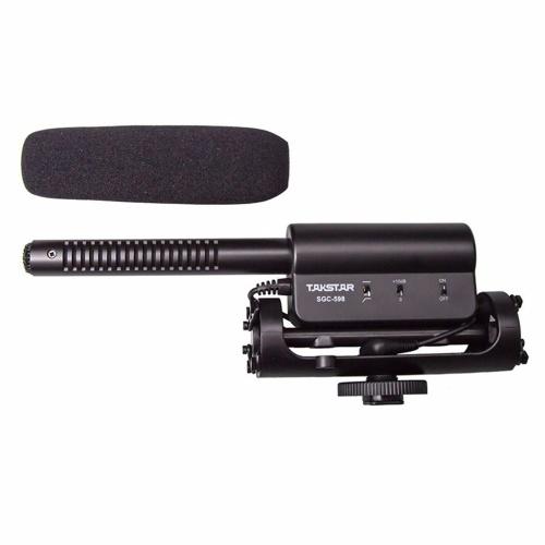 Micrófonos de fotografía profesionales portátiles