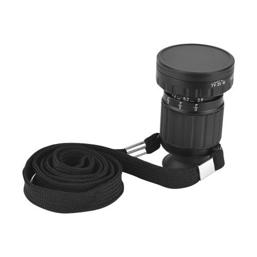 Micro Ampliación 11X portátil Visor del visor del director Visor de escenas Mini rosca frontal Telescópico telescópico con zoom Fotografía para fotógrafo profesional
