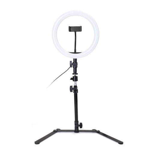 260mm USB LED Selfie Round Light Photography Video Makeup Dimming Fill Lamp