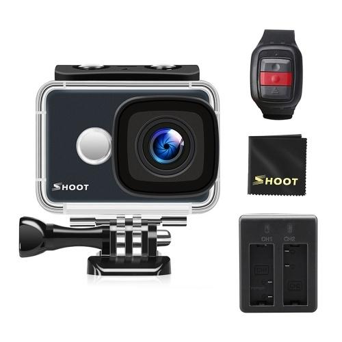 Caméra d'action Wi-Fi SHOOT 4K