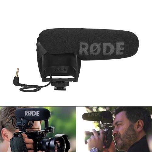 RODE Video Mic Pro Shotgun-Kondensatormikrofon an der Kamera