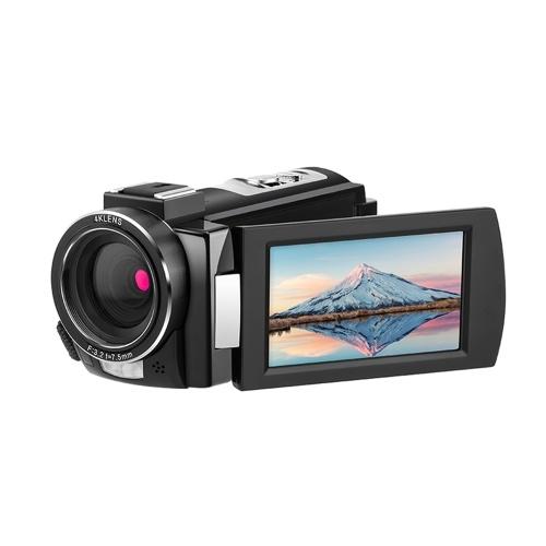 ORDRO HDV-AE8 4K WiFi Цифровая видеокамера Видеокамера DV-рекордер фото