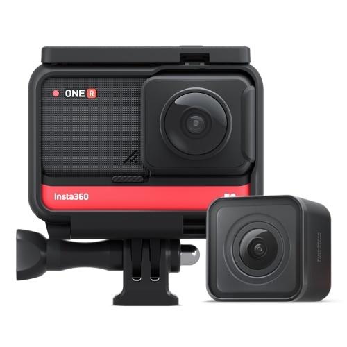 Insta360 ONE R Twin Edition Doppelobjektiv-Sport-Actionkamera mit Verwacklungsschutz
