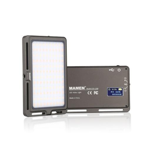 MAMEN LED-120B Lampe de lumière vidéo LED ultra mince