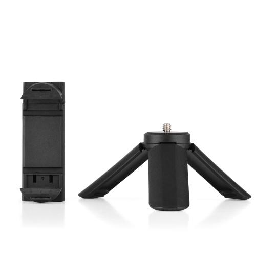 Mini support de téléphone trépied pince de support de téléphone portable de bureau