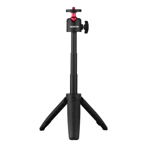 IEDiSTAR DX-06 Portable Vlog Selfie Stick Extension Pole with Tabletop Tripod Function with Foldable Phone Holder