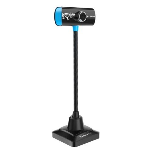 480P HD Webcam USB Laptop Camera PC Web Camera Built-in Microphone