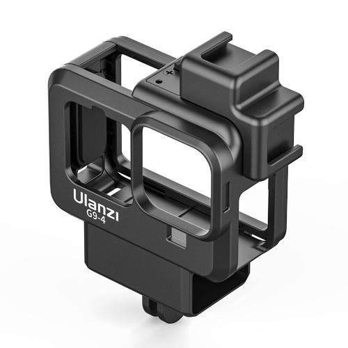 Ulanzi G9-4 ação câmera vídeo gaiola caixa de plástico vlog caixa de proteção