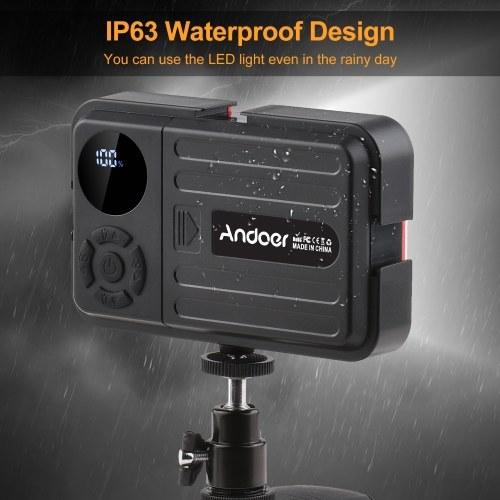 Andoer LED Video Light Photography Fill Light