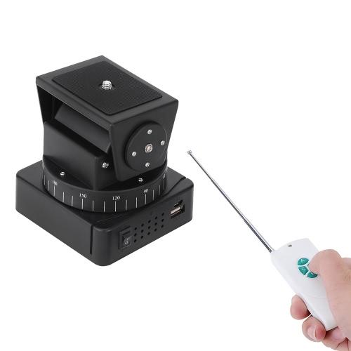 Zifon YT-260 con control remoto motorizado Pan Tilt para cámara extrema Wifi cámara y teléfono inteligente